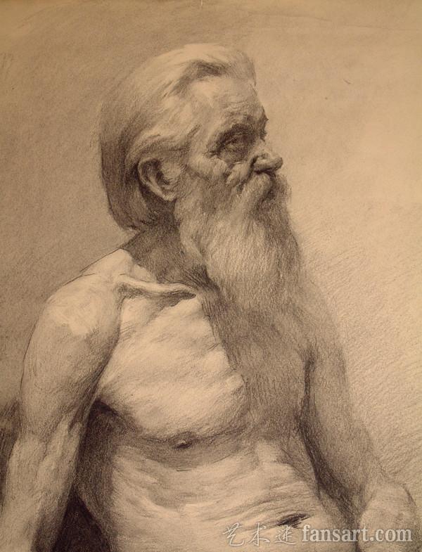 列宾美院经典素描头像